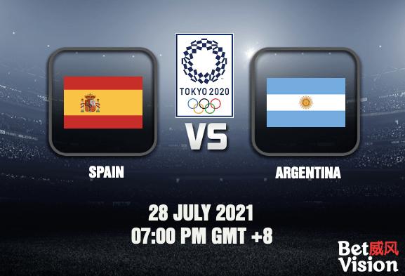 Spain v Argentina Olympics Prediction Football 28 JUL 21