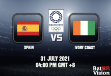 Spain v Ivory Coast Prediction Tokyo 2020 Football 31 JUL 21