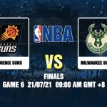 Suns v Bucks Game 6 Prediction NBA Finals 21 JUL 21
