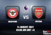 Brentford v Arsenal Prediction EPL 10 AUG 21