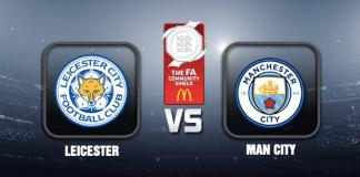 Leicester v Man City Prediction Community Shield 08 AUG 21