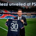 Messi unveiled at PSG