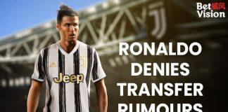 Ronaldo denies transfer rumours-min