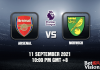 Arsenal v Norwich Prediction - EPL - 11 SEP 21