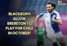 Blackburn allow Brereton to play for Chile 9-15-21