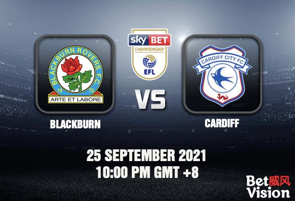 Blackburn v Cardiff Prediction - EFL Championship - 25 SEP 21
