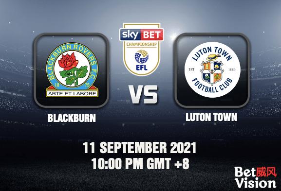 Blackburn v Luton Prediction - EFL - 11 SEP 21
