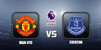 Man Utd v Everton EPL 03 OCT 21