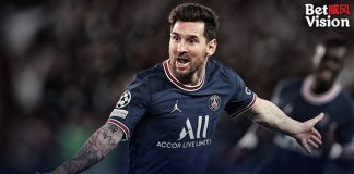 Messi scores 1st PSG goal