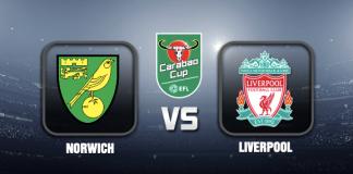 Norwich v Liverpool Prediction EFL Cup 22 SEP 21