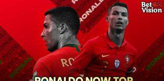 Ronaldo now top scorer in mens international football