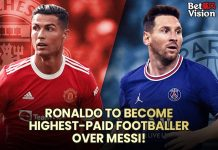 Ronaldo to become highest-paid footballer over Messi