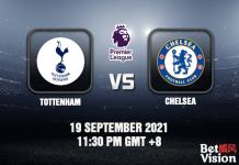 Tottenham v Chelsea Match Prediction - EPL - 19 SEP 21