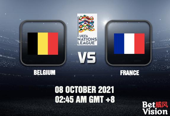 Belgium v France UNL Prediction - 08 OCT 21
