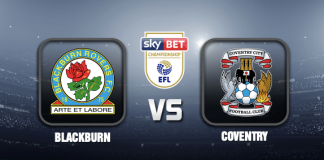 Blackburn v Coventry Prediction EFL Championship 16 OCT 21
