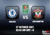 Chelsea v Southampton Prediction EFL Cup 27 OCT 21