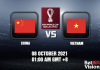 China v Vietnam Prediction WC Qualifiers 09 OCT 21