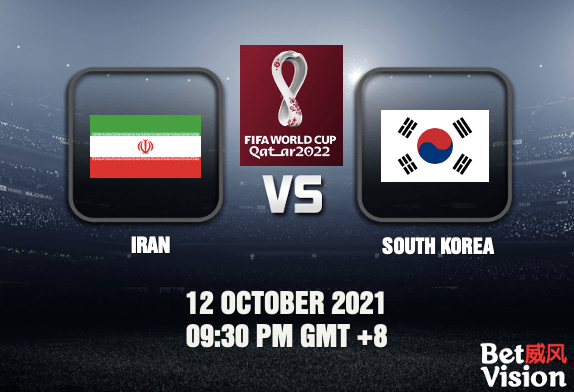 Iran v South Korea Prediction World Cup Qualifiers 12 OCT 21