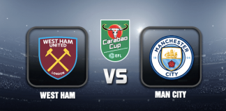 West Ham v Man City EFL Cup 28 OCT 21